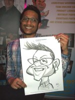 A Crewe Manchester Liverpool Caricature Artists Hire